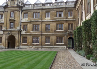 Clare College, Masters Lodge