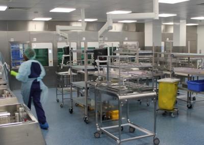 Ipswich Hospital, Sterilisation Services Department (SSD)